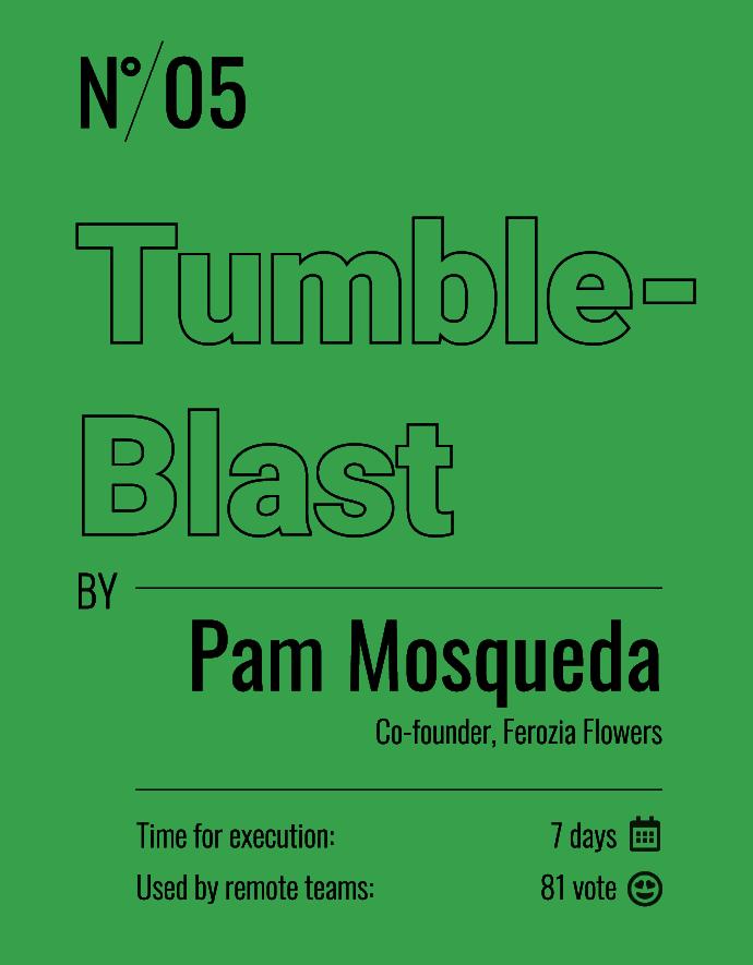 tumble-blast
